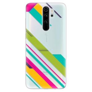 Silikonové odolné pouzdro iSaprio - Color Stripes 03 na mobil Xiaomi Redmi Note 8 Pro
