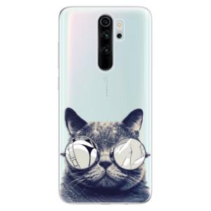 Silikonové odolné pouzdro iSaprio - Crazy Cat 01 na mobil Xiaomi Redmi Note 8 Pro