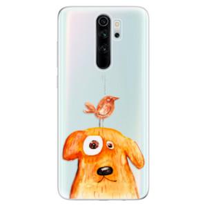 Silikonové odolné pouzdro iSaprio - Dog And Bird na mobil Xiaomi Redmi Note 8 Pro