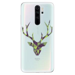 Silikonové odolné pouzdro iSaprio - Deer Green na mobil Xiaomi Redmi Note 8 Pro