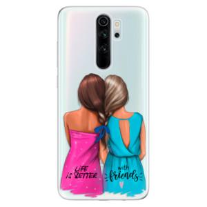 Silikonové odolné pouzdro iSaprio - Best Friends na mobil Xiaomi Redmi Note 8 Pro
