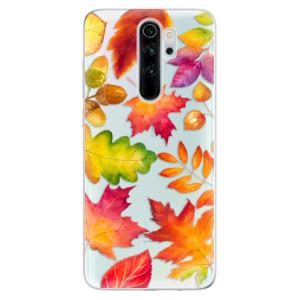 Silikonové odolné pouzdro iSaprio - Autumn Leaves 01 na mobil Xiaomi Redmi Note 8 Pro