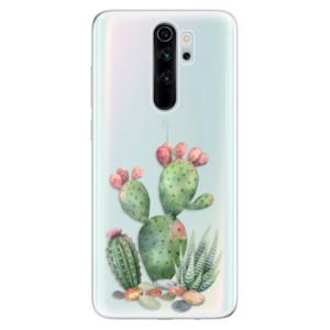 Silikonové odolné pouzdro iSaprio - Cacti 01 na mobil Xiaomi Redmi Note 8 Pro