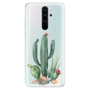 Silikonové odolné pouzdro iSaprio - Cacti 02 na mobil Xiaomi Redmi Note 8 Pro