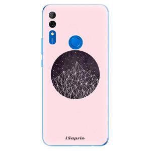Silikonové odolné pouzdro iSaprio - Digital Mountains 10 na mobil Huawei P Smart Z