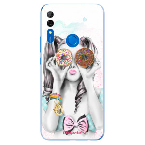 Silikonové odolné pouzdro iSaprio - Donuts 10 na mobil Huawei P Smart Z