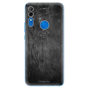 Silikonové odolné pouzdro iSaprio - black Wood 13 na mobil Huawei P Smart Z