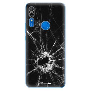Silikonové odolné pouzdro iSaprio - Broken Glass 10 na mobil Huawei P Smart Z