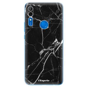 Silikonové odolné pouzdro iSaprio - black Marble 18 na mobil Huawei P Smart Z