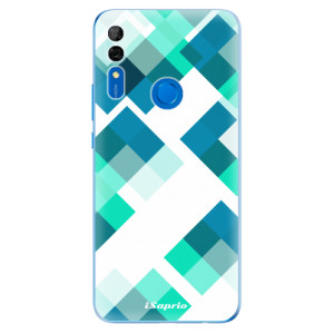 Silikonové odolné pouzdro iSaprio - Abstract Squares 11 na mobil Huawei P Smart Z
