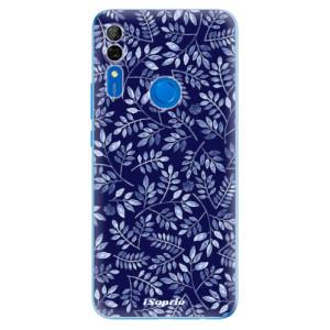 Silikonové odolné pouzdro iSaprio - Blue Leaves 05 na mobil Huawei P Smart Z