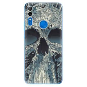 Silikonové odolné pouzdro iSaprio - Abstract Skull na mobil Huawei P Smart Z