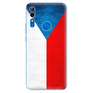 Silikonové odolné pouzdro iSaprio - Czech Flag na mobil Huawei P Smart Z