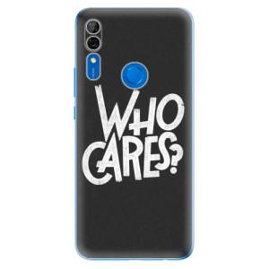 Silikonové odolné pouzdro iSaprio - Who Cares na mobil Huawei P Smart Z