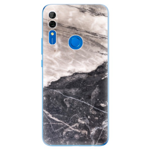 Silikonové odolné pouzdro iSaprio - BW Marble na mobil Huawei P Smart Z