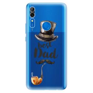 Silikonové odolné pouzdro iSaprio - Best Dad na mobil Huawei P Smart Z