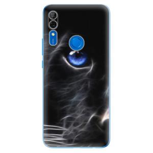 Silikonové odolné pouzdro iSaprio - black Puma na mobil Huawei P Smart Z