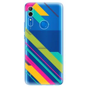 Silikonové odolné pouzdro iSaprio - Color Stripes 03 na mobil Huawei P Smart Z