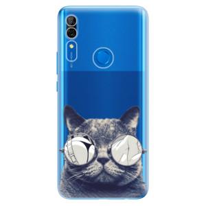 Silikonové odolné pouzdro iSaprio - Crazy Cat 01 na mobil Huawei P Smart Z
