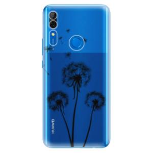 Silikonové odolné pouzdro iSaprio - Three Dandelions black na mobil Huawei P Smart Z