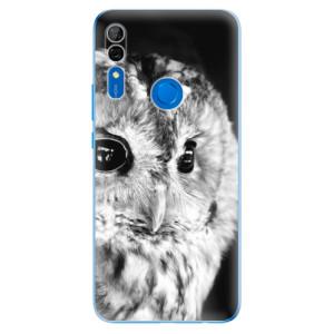 Silikonové odolné pouzdro iSaprio - BW Owl na mobil Huawei P Smart Z