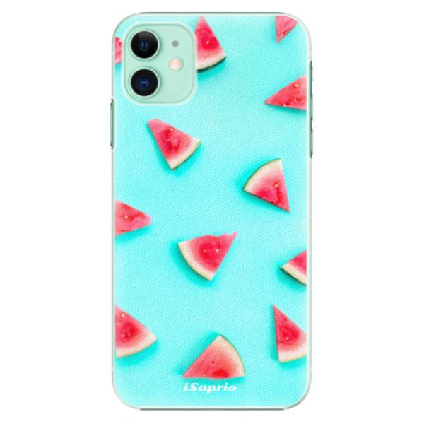 Plastové pouzdro iSaprio - Melon Patern 10 na mobil Apple iPhone 11