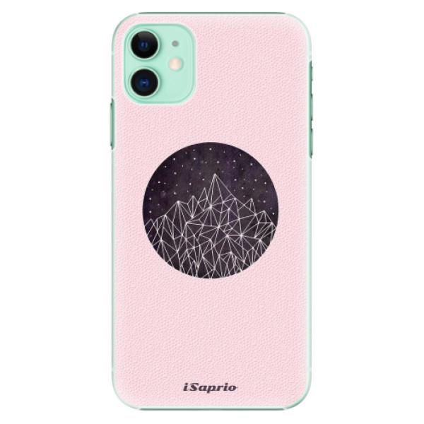 Plastové pouzdro iSaprio - Digital Mountains 10 na mobil Apple iPhone 11