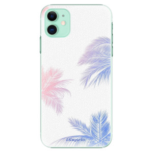 Plastové pouzdro iSaprio - Digital Palms 10 na mobil Apple iPhone 11