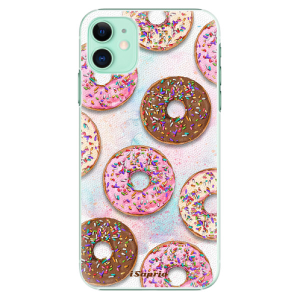 Plastové pouzdro iSaprio - Donuts 11 na mobil Apple iPhone 11