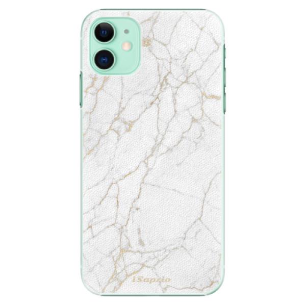 Plastové pouzdro iSaprio - GoldMarble 13 na mobil Apple iPhone 11