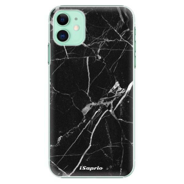 Plastové pouzdro iSaprio - black Marble 18 na mobil Apple iPhone 11