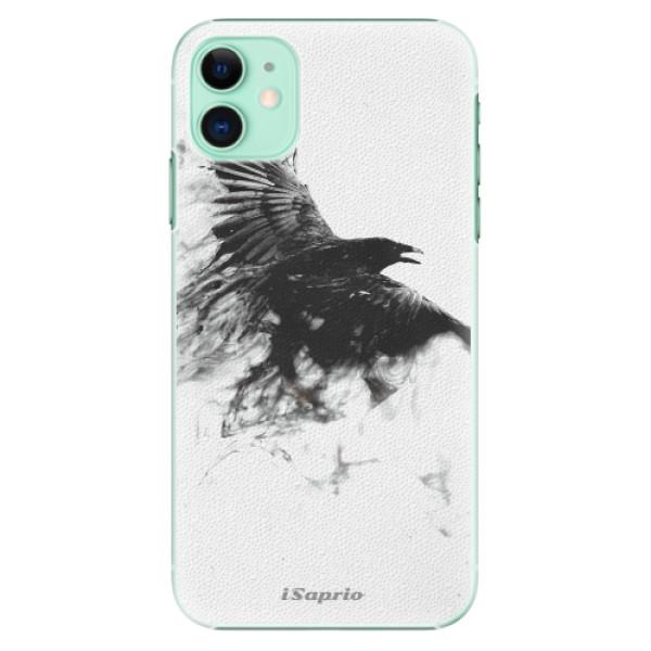 Plastové pouzdro iSaprio - Dark Bird 01 na mobil Apple iPhone 11