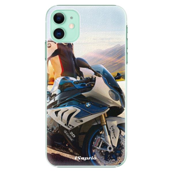 Plastové pouzdro iSaprio - Motorcycle 10 na mobil Apple iPhone 11