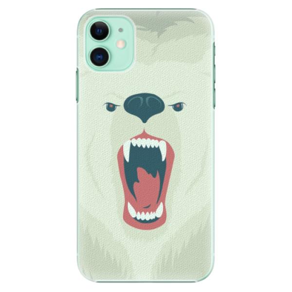 Plastové pouzdro iSaprio - Angry Bear na mobil Apple iPhone 11