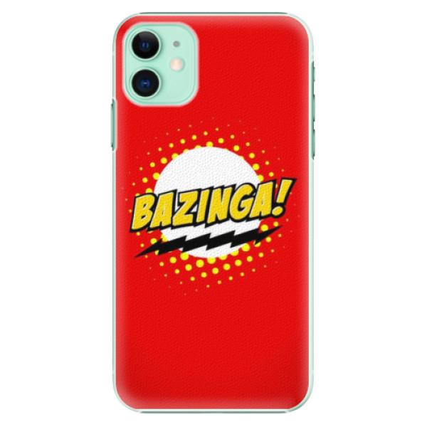 Plastové pouzdro iSaprio - Bazinga 01 na mobil Apple iPhone 11