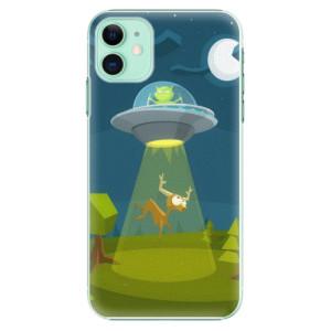 Plastové pouzdro iSaprio - Alien 01 na mobil Apple iPhone 11