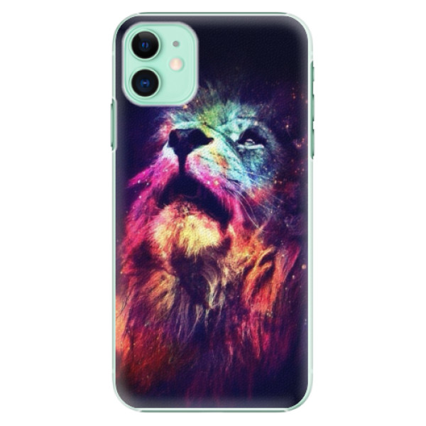 Plastové pouzdro iSaprio - Lion in Colors na mobil Apple iPhone 11