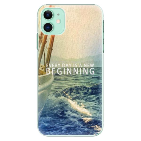 Plastové pouzdro iSaprio - Beginning na mobil Apple iPhone 11