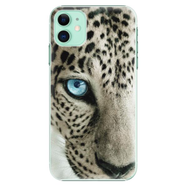 Plastové pouzdro iSaprio - white Panther na mobil Apple iPhone 11