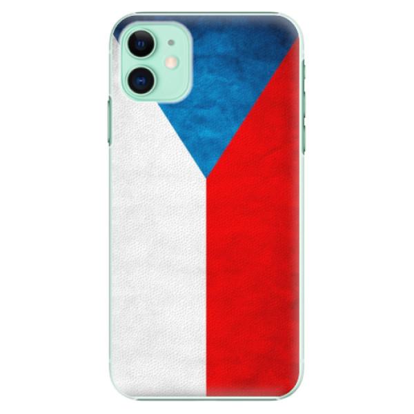 Plastové pouzdro iSaprio - Czech Flag na mobil Apple iPhone 11
