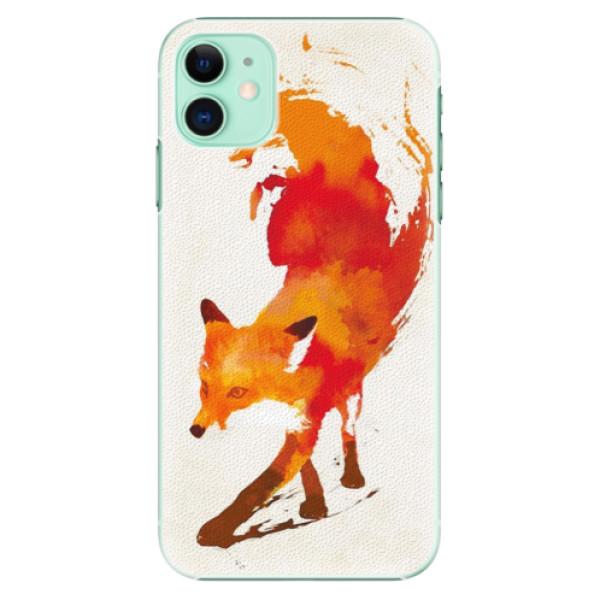 Plastové pouzdro iSaprio - Fast Fox na mobil Apple iPhone 11