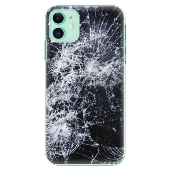 Plastové pouzdro iSaprio - Cracked na mobil Apple iPhone 11