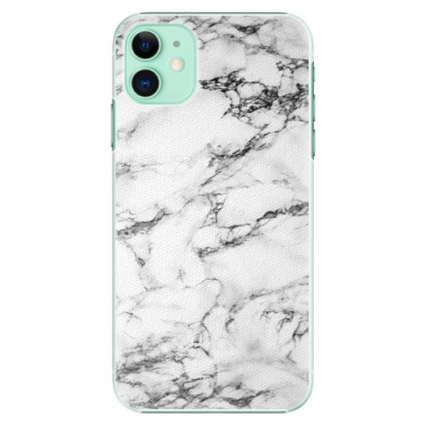 Plastové pouzdro iSaprio - white Marble 01 na mobil Apple iPhone 11