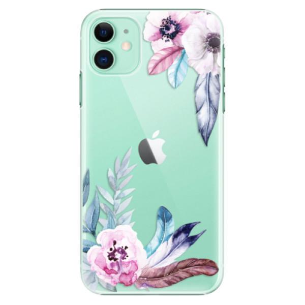 Plastové pouzdro iSaprio - Flower Pattern 04 na mobil Apple iPhone 11