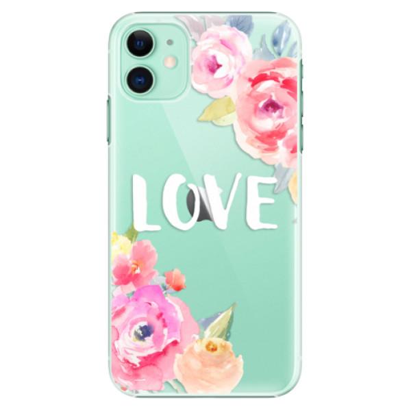 Plastové pouzdro iSaprio - Love na mobil Apple iPhone 11