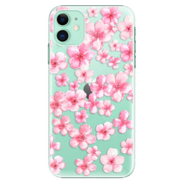 Plastové pouzdro iSaprio - Flower Pattern 05 na mobil Apple iPhone 11