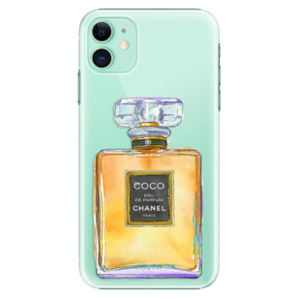 Plastové pouzdro iSaprio - Chanel Gold na mobil Apple iPhone 11