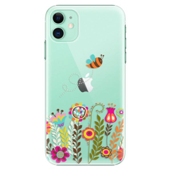 Plastové pouzdro iSaprio - Bee 01 na mobil Apple iPhone 11
