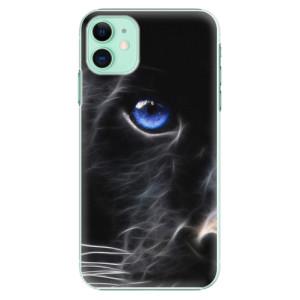 Plastové pouzdro iSaprio - black Puma na mobil Apple iPhone 11