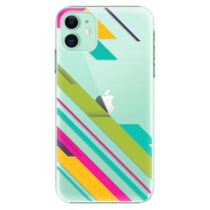 Plastové pouzdro iSaprio - Color Stripes 03 na mobil Apple iPhone 11